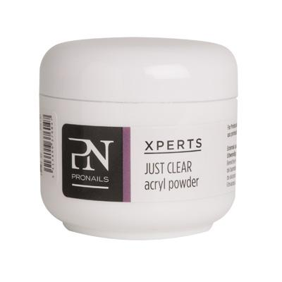 XpertS Acryl Powder Just Clear 25 gr